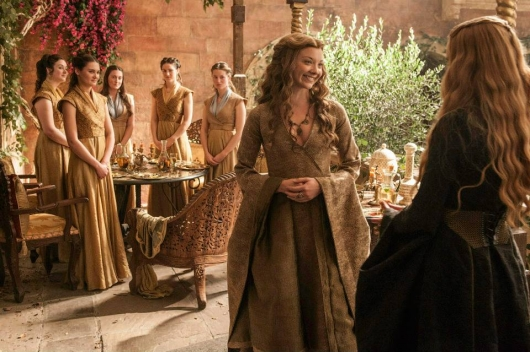 Game Of Thrones Season 5 Natalie Dormer as Margaery Tyrell and Lena Headey as Cersei Lannister