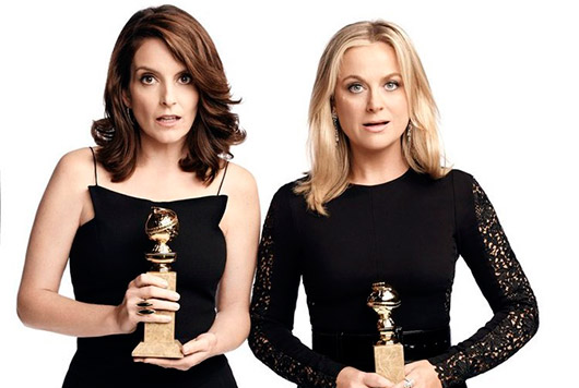 Golden Globe Awards 2015 Tiny Fey Amy Poehler