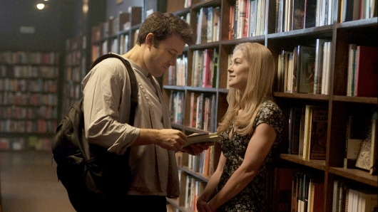 Gone Girl library Ben Affleck, Rosamund Pike