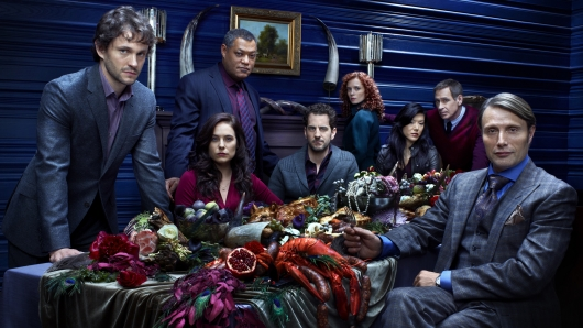 NBC's Hannibal cast photo