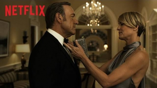 Netflix House Of Cards Season 3 Kevin Spacey Robin Wright