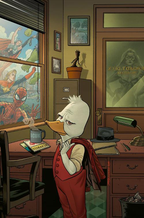 Marvel Comics Howard the Duck #1 cover by Joe Quinones