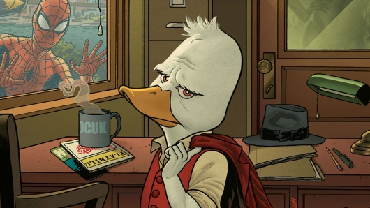 Marvel Comics Howard the Duck #1 cover cropped