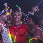 I Am Michael James Franco and Zachary Quinto glow sticks