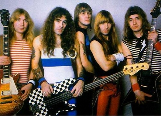 Iron Maiden Powerslave Era