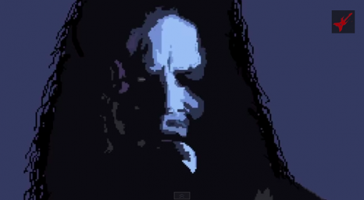 Metallica James Hetfield One 8-Bit art