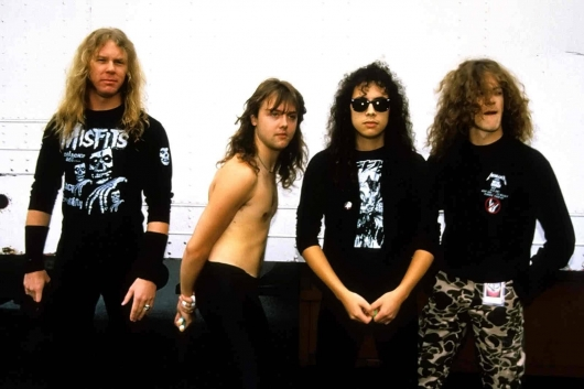 Metallica And Justice For All Band Photo