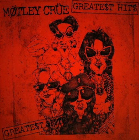 Motley Crue Greatest Hits Cover
