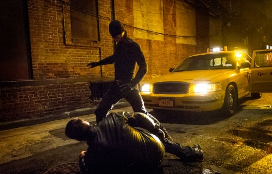 Charlie Cox as Daredevil in Marvel's Netflix Series Daredevil