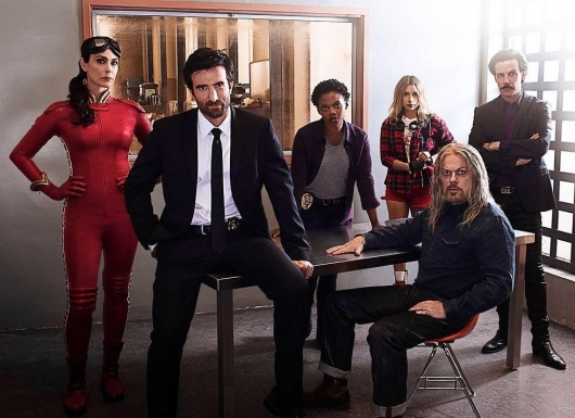 Powers TV series cast photo