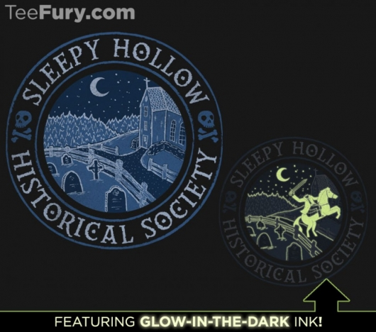 Sleepy Hollow Historical Society t-shirt design