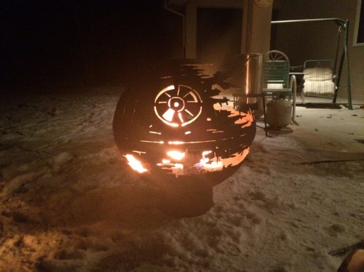 Star Wars Death Star II Fire Pit
