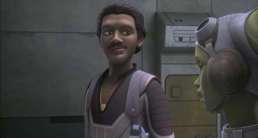 Star Wars Rebels Lando and Hera