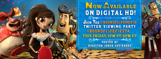 The Book Of Life fiesta on Twitter banner