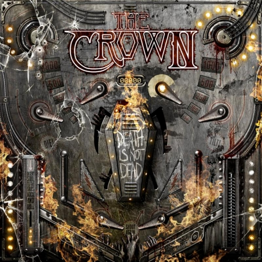 The Crown Death Is Not Dead Album Cover