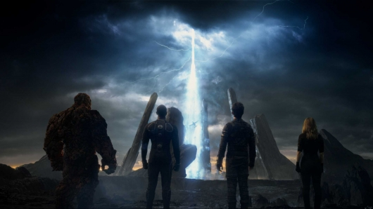 The Fantastic Four movie 2015 team