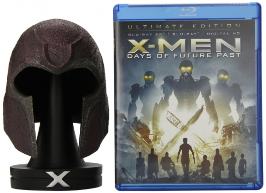 Amazon exclusive Blu-ray X-Men: Days of Future Past With Magneto Helmet