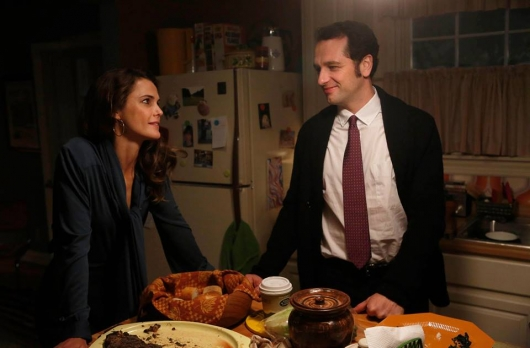 The Americans Season 3 Episode 4 Keri Russell as Elizabeth Jennings and Matthew Rhys as Philip Jennings