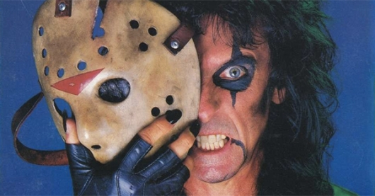 Alice Cooper Jason Voorhees Hockey Mask