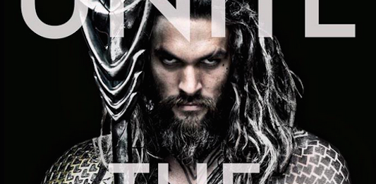 Jason Momoa Unite The Seven Aquaman Justice League Banner