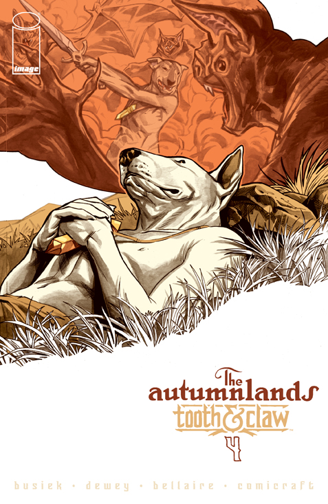 Autumnlands #4 cover