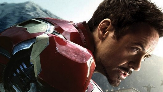 Avengers Age of Ultron Iron Man Character Poster Header