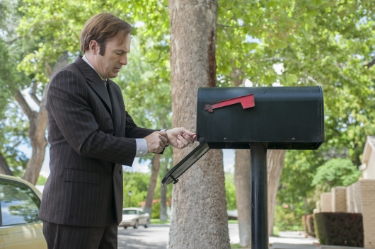 Better Call Saul Episode 1.4 Hero Jimmy McGill (Bob Odenkirk) AMC