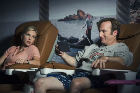 Better Call Saul Episode 1.4 Kimberly Wexler (Rhea Seehorn) Jimmy McGill (Bob Odenkirk)