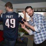 Chris Pratt at Christopher's Have February 2015 via CH