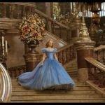Cinderella live action movie Cinderella (Lily James) at Ball