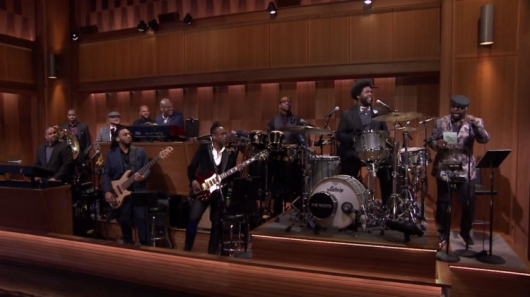 Freestylin' With The Roots Jimmy Fallon