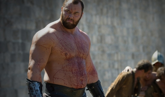 Hafthor Bjornsson in Game of Thrones
