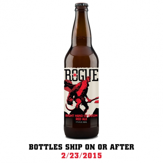 Hellboy Right Hand Of Doom Red Ale From Rogue