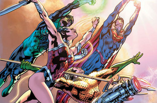 DC Comics JLA by Bryan Hitch banner