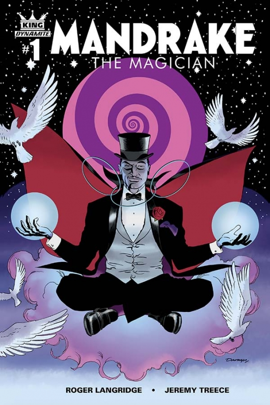 King: Mandrake the Magician #1 cover