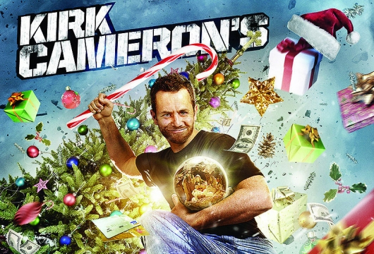 Kirk Cameron's Saving Christmas banner Razzie Awards winner