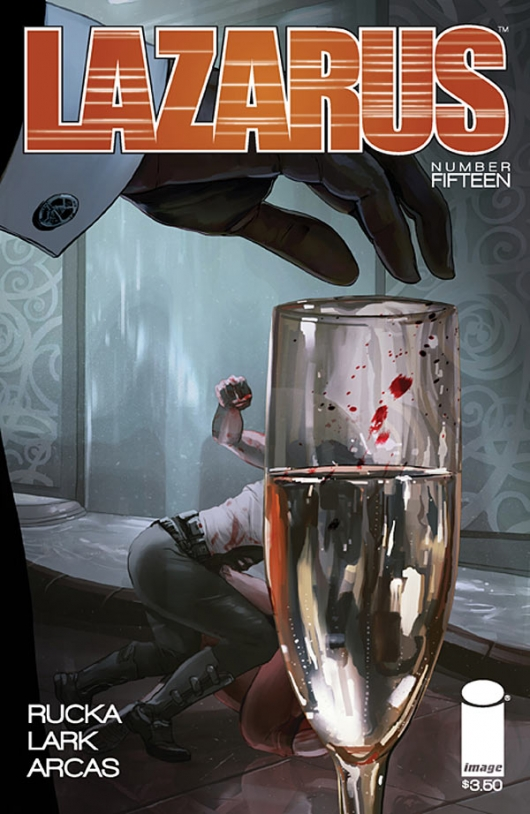Lazarus 15 cover by Owen Freeman