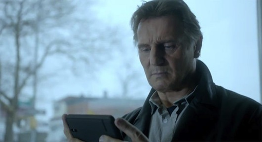 Liam Neeson Clash of Clans Super Bowl