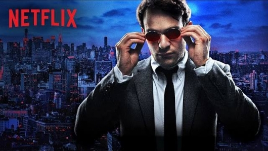 Marvel Daredevil Netflix series second motion poster