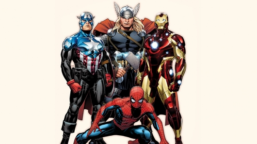 Marvel Spider-Man Captain America Thor Iron Man
