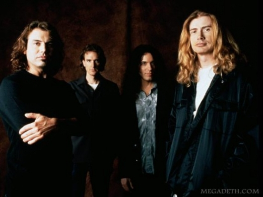 Megadeth Risk Era Band Photo