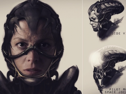 Neill Blomkamp Alien Concept Art Header