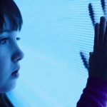 Poltergeist Madison Bowen (Kennedi Clements) reaches out to apparitions