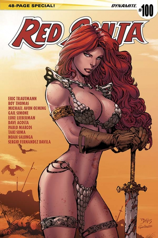 Red Sonja #100 cover