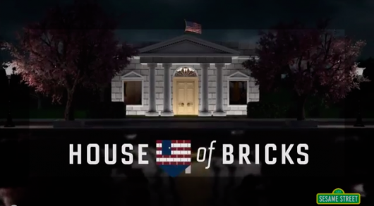 Sesame Street House of Cards Parody House of Bricks