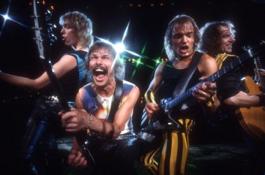The Scorpions Band Photo