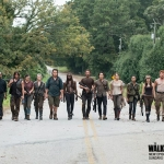 The Walking Dead Season 5.2 cast photo