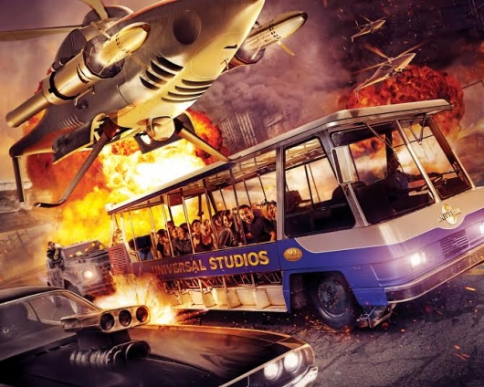 Universal Studios Fast & Furious Supercharged theme park attraction