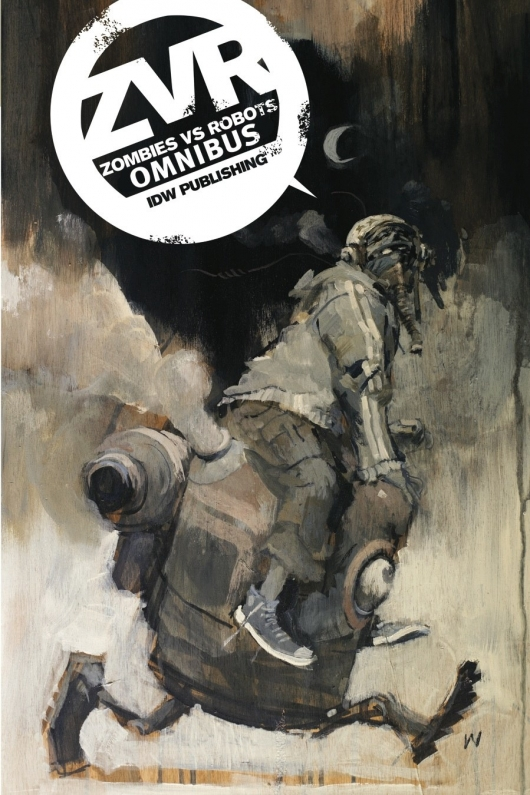 Zombies VS. Robots Omnibus Cover Ashley Wood
