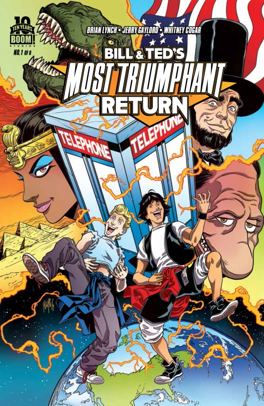 Bill & Teds Triumphant Return #1 Felipe Smith cover